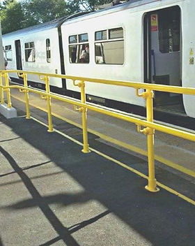 KITE Projects - Manningtree Station - KITE Powdercoated Handrail