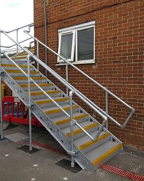 KITE Projects - Clapham Traincare Depot - KITE Ramp & KITE Bespoke Metal Solution