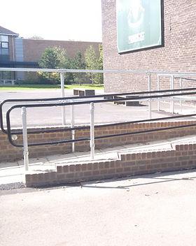 KITE Projects - Pirbright Barracks - KITE Powdercoated Handrail