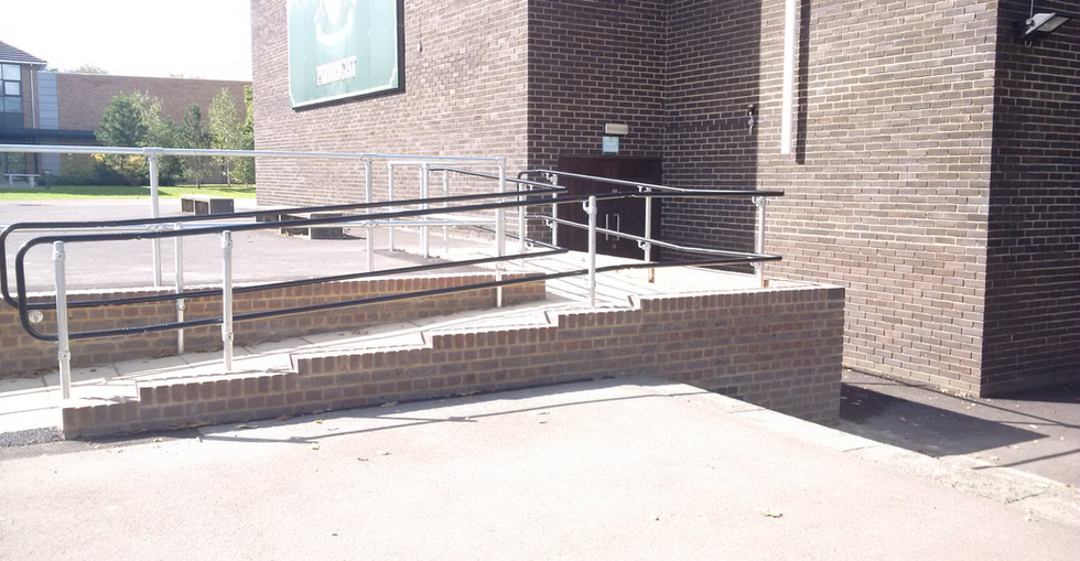 KITE Projects - Pirbright Barracks - KITE Handrail