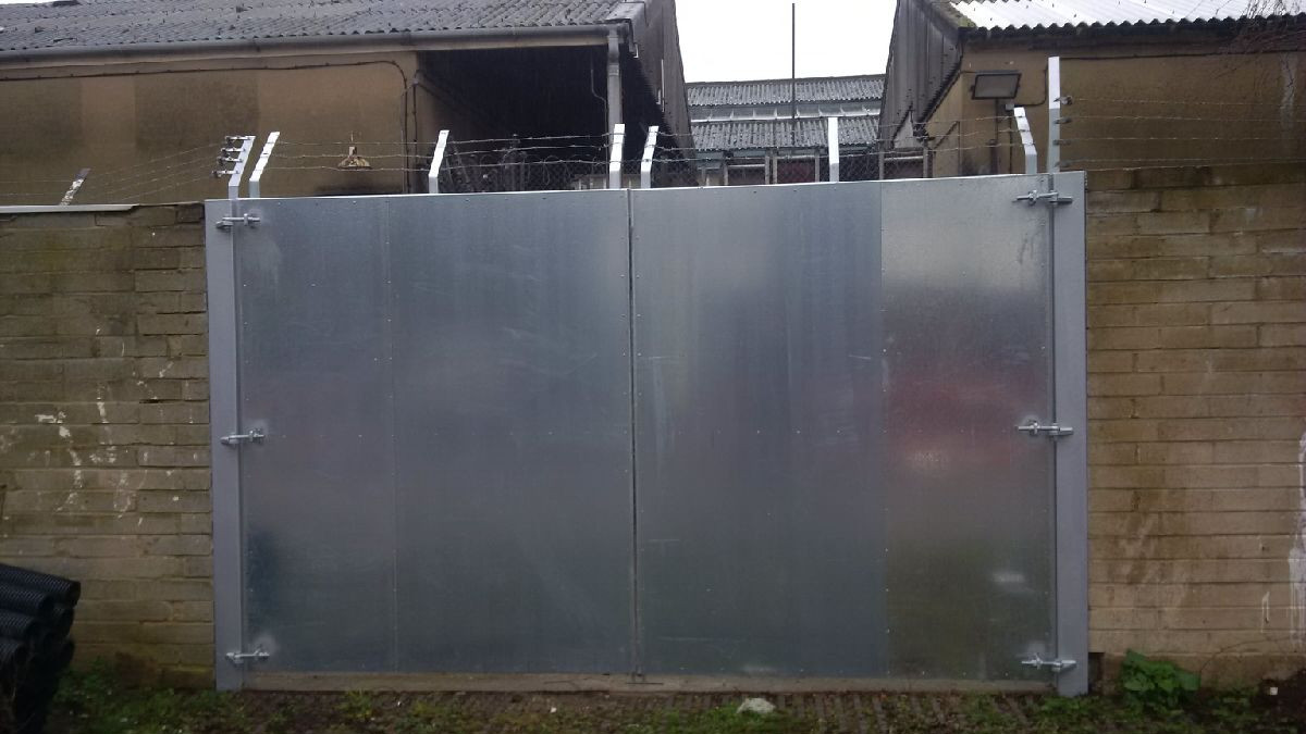 KITE Projects - Lillebridge Depot - KITE Bespoke Metal Gate