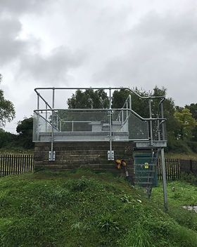 KITE Projects - Twyford Moors - KITE Handrail with Mesh Infill