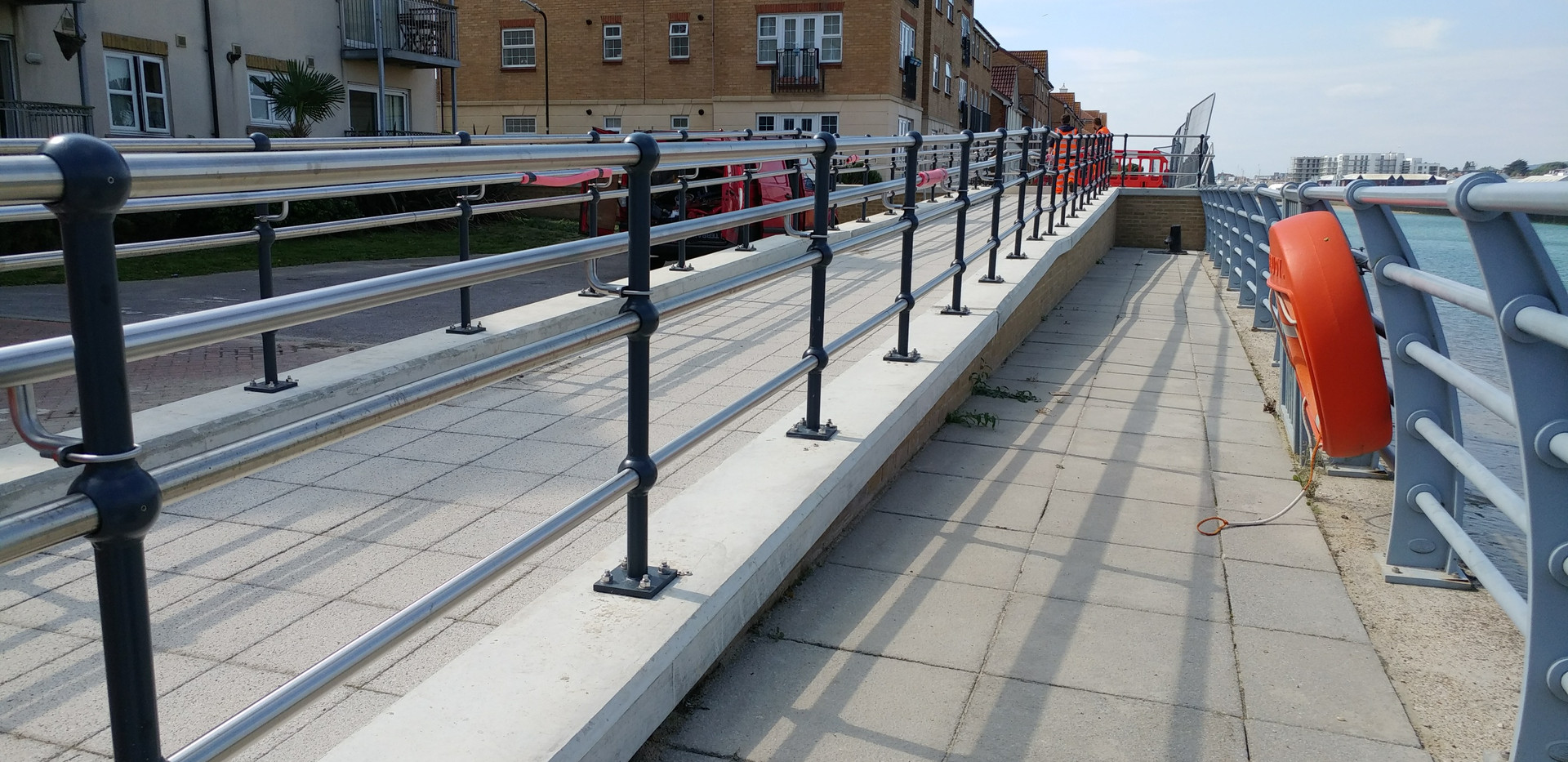 KITE Projects - Shoreham Waterfront - KITE Stainless Steel Handrail