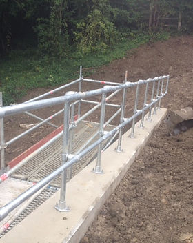 KITE Projects - A21 - KITE Clamp Handrail