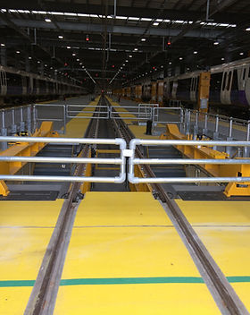 KITE Projects - Old Oak Common Depot - KITE Clamp Handrail