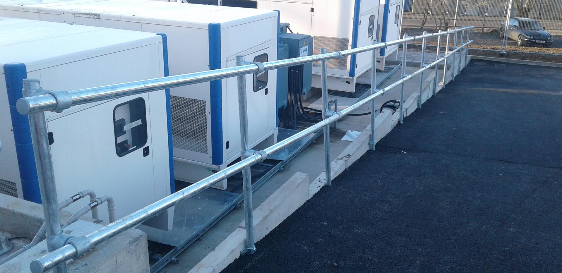 KITE Projects - Ipswich Docks - KITE Clamp Handrail