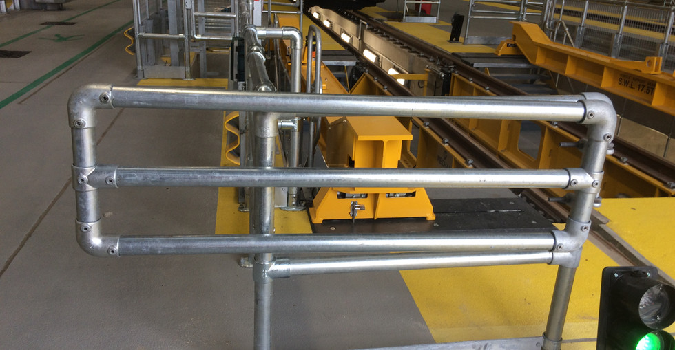 KITE Projects - Old Oak Common - KITE Clamp Handrail