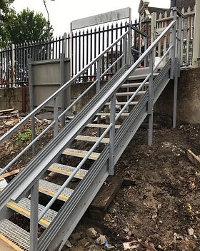 KITE Projects - Preston Park Station - KITE Bespoke GRP Staircase