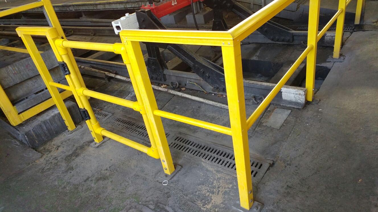 KITE Projects - Stonebridge Depot - KITE Omega GRP Handrail