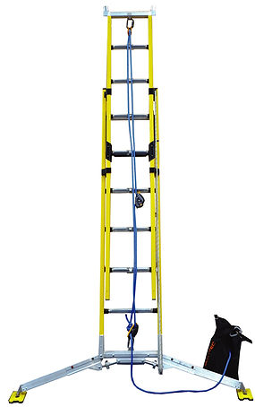 Fall Control Extension Ladder