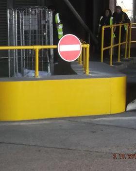 KITE Projects - Heathrow Airport - Bespoke Steel Traffic Islands