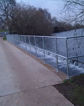 KITE Projects - Walthomstow - KITE Handrail with Mesh Infill