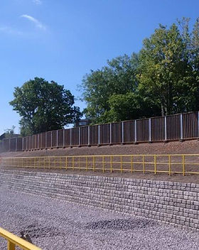 KITE Projects - Oxford-Bicester Line - KITE Omega GRP Handrail