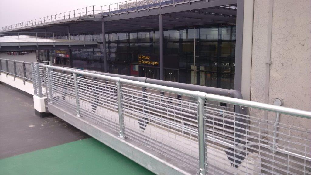 KITE Projects - Gatwick Anti-Climb Barriers