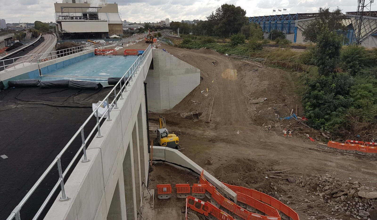 KITE Projects - Bermondsey Dive-Under - KITE Clamp Handrail