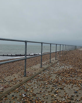 KITE Projects - Selsey Sea Front - KITE Projects Clamp Handrail
