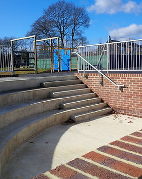 KITE Projects - Tilehurst Primary School - KITE Handrail with Infill