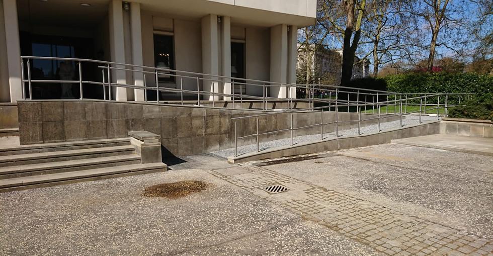 KITE Projects - Wellington Barracks - KITE Stainless Steel Handrail