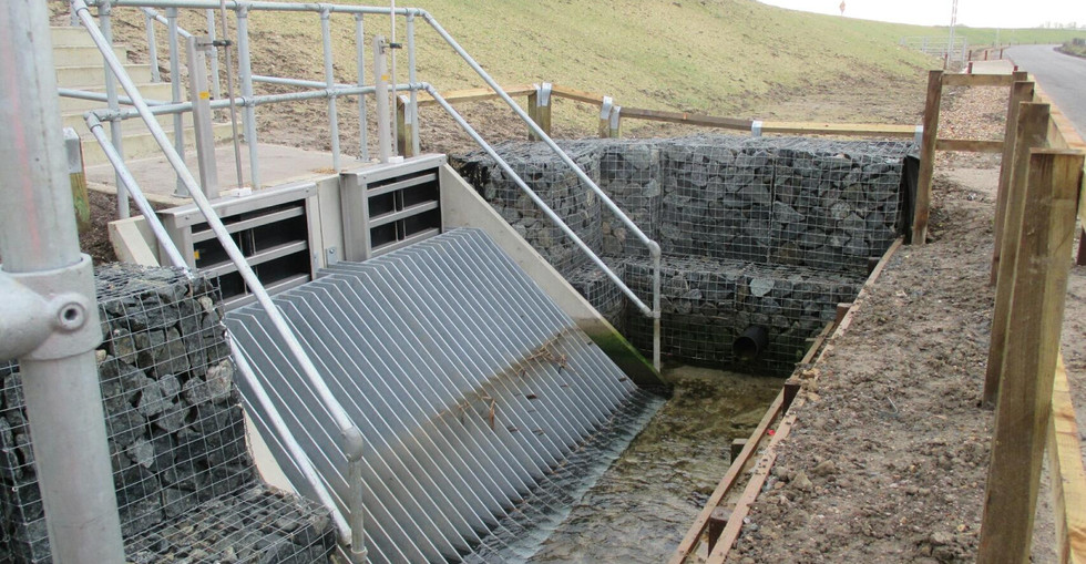 KITE Projects - Shoreham Adur Tidal Wall