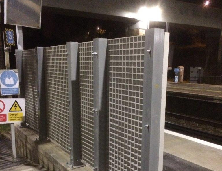 KITE Projects - Haywards Heath Station - KITE Bespoke GRP Solution