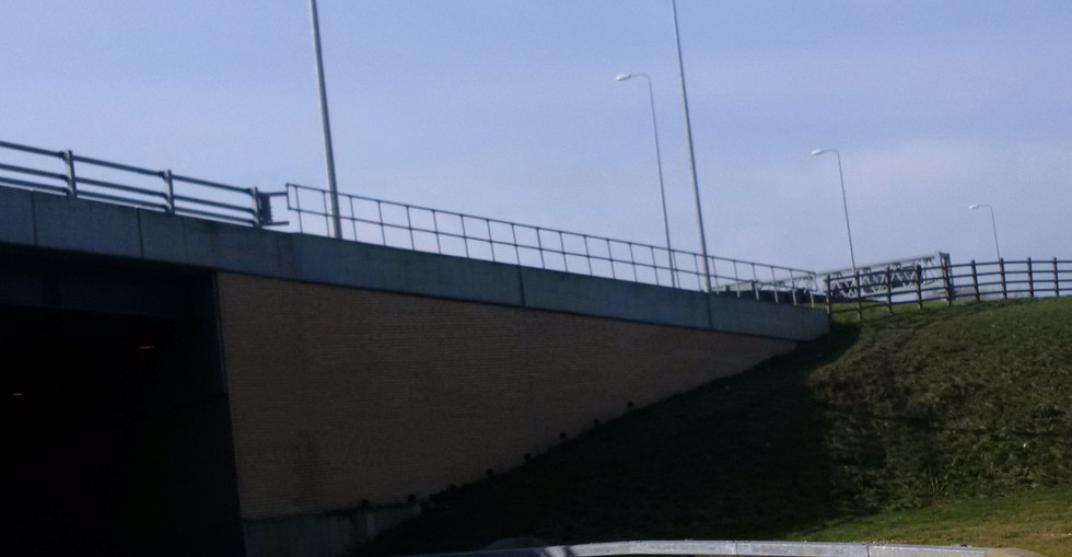KITE Projects - Cobham Services - KITE Clamp Handrailing