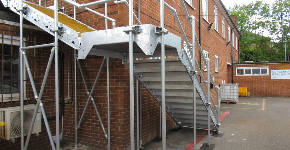 KITE Projects - Clapham Traincare Depot - KITE Ramp & Fire Escape
