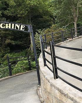 KITE Projects - Shanklin Chine - KITE Powdercoated Handrail
