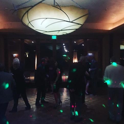 Christmas party at Entrada #dj #djlife #