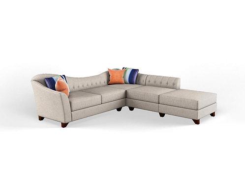 Homer Sectional Sofa (Single Arm)