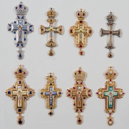 Pectoral Crosses -- LG91J