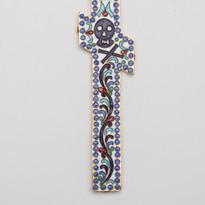 Enamel Blessing Cross -- LG18G (FLAT)
