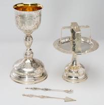Sterling Silver Chalice Set -- LG15H
