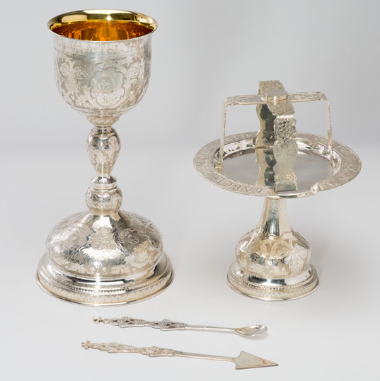 Sterling Silver Chalice Set -- LG15H