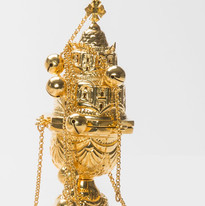 Gold Plated Censer -- LG5G