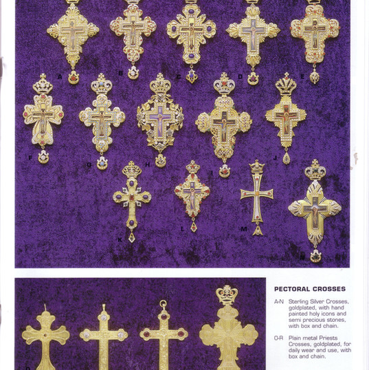 Gold Crosses -- Large Catalog Page 17