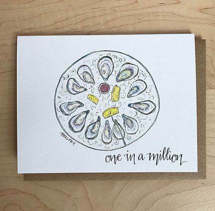 One in a Million Pearl Everyday Greeting Card