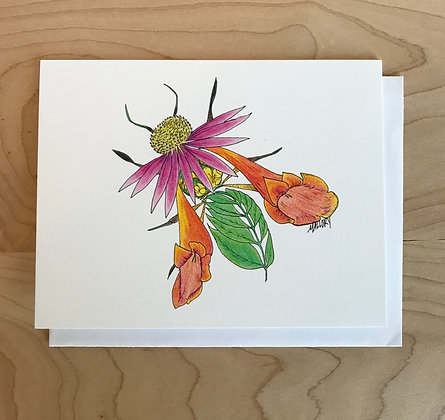 Honeybee Greeting Card