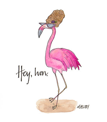 Hey Hon Flamingo