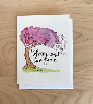 Bloom and be Free