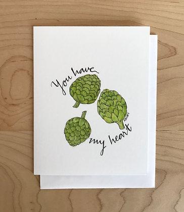 You Have My (Artichoke) Heart