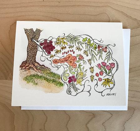 Beehive Blank Card
