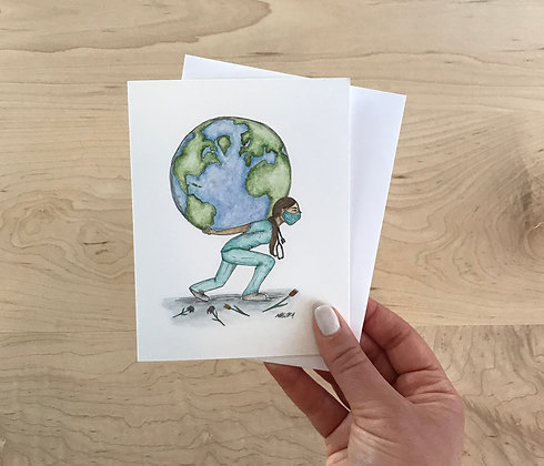 A Weight of the World Card
