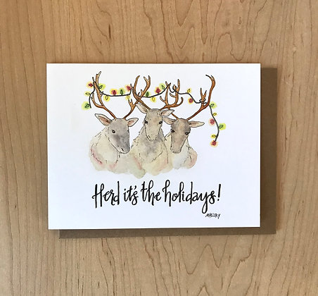 Herd It's the Holidays