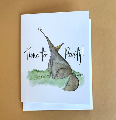 Anteater Party Time