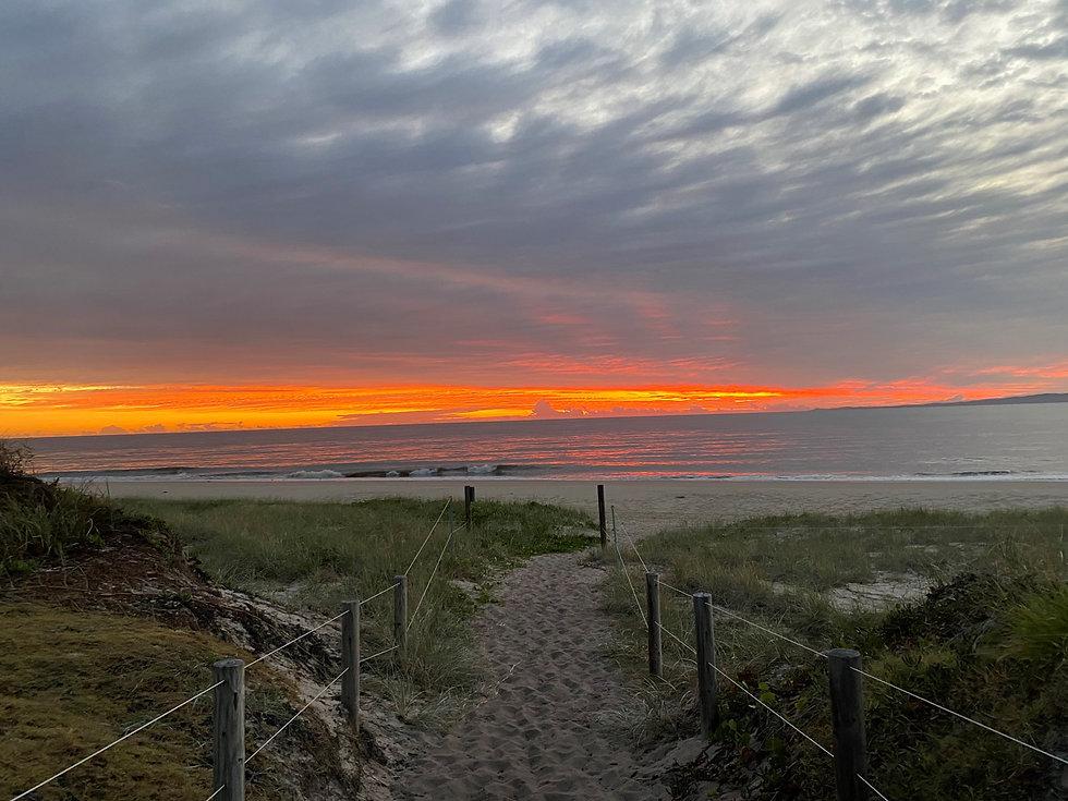 Sunrise at Woorim Beach