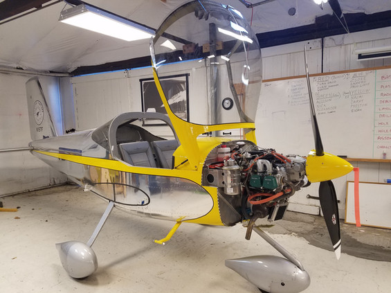 A completed TeenFlight plane