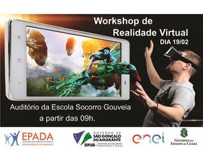 São Gonçalo: Governo Municipal realiza workshop sobre realidade virtual