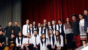 Paracuru: Coral de Adolescentes se apresentou no Projeto Cantares no Teatro José de Alencar