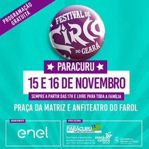 Festival de Circo do Ceará em Paracuru