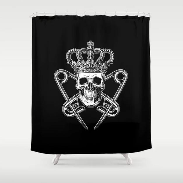 PM Logo Shower Curtain